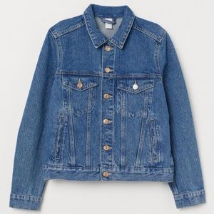 H&M Denim Blue Jean Jacket